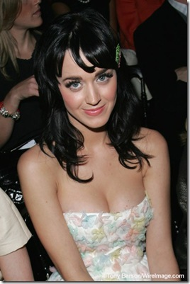 Katy Perry attends the Christian Dior '09 Spring Summer Ready-to