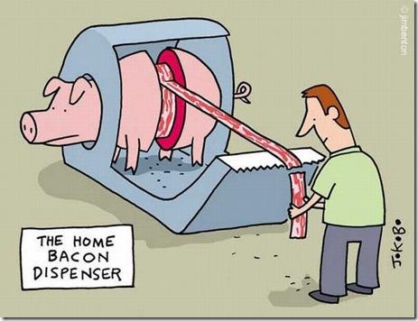 Bacon-Dispenser