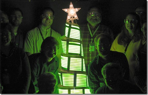 OLED Christmas Tree