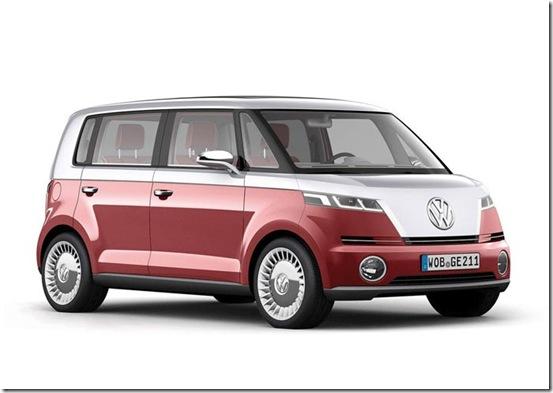 volkswagen bulli concept 2011 - conceito nova vw kombi