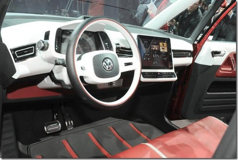 volkswagen bulli concept 2011 interior2