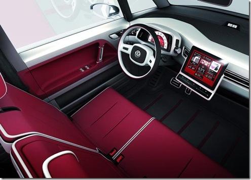 volkswagen bulli concept 2011 interior - conceito nova vw kombi interior