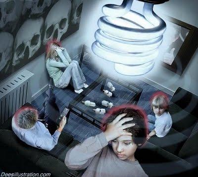 Cientistas advertem: Lâmpadas fluorescentes compactas contêm produtos químicos cancerígenos