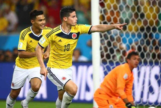 Copa do Mundo Fifa Brasil 2014- Colombia X Uruguai